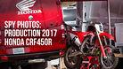 Spy Photos: The Production 2017 Honda CRF450R!