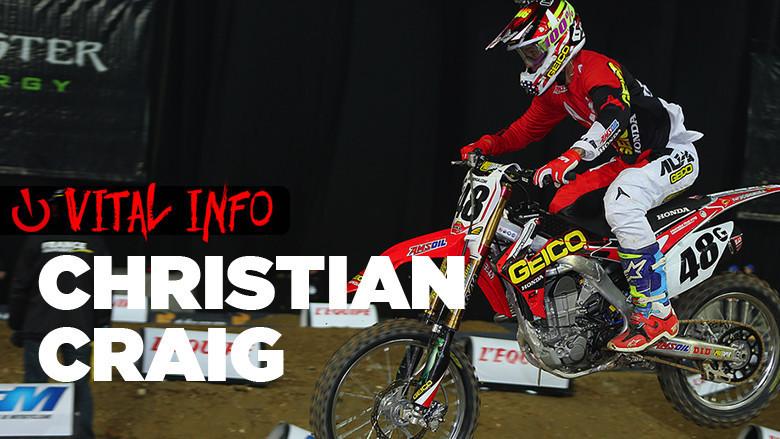 Vital Info: Christian Craig