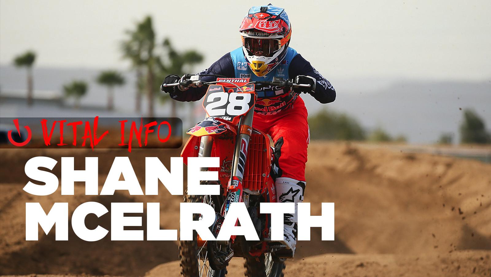 Vital Info: Shane McElrath