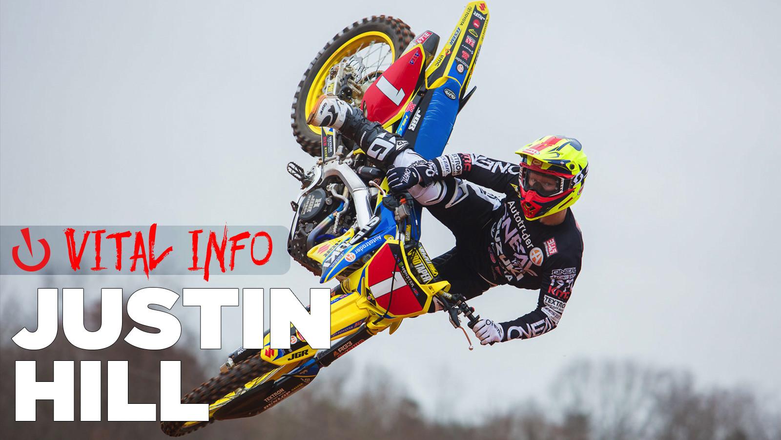Vital Info: Justin Hill