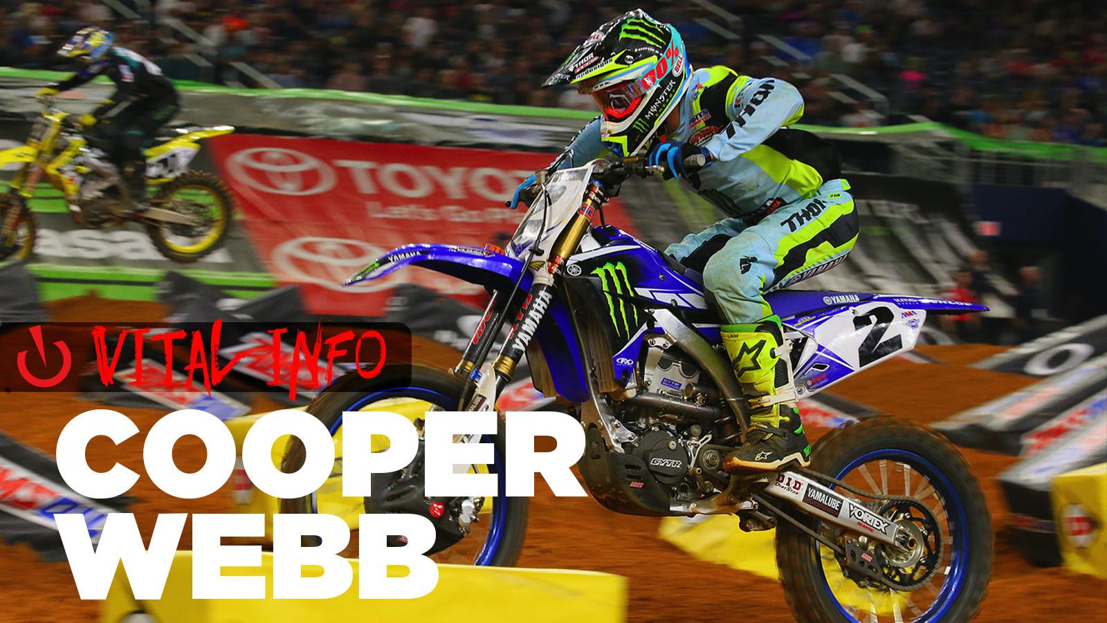 Vital Info: Cooper Webb