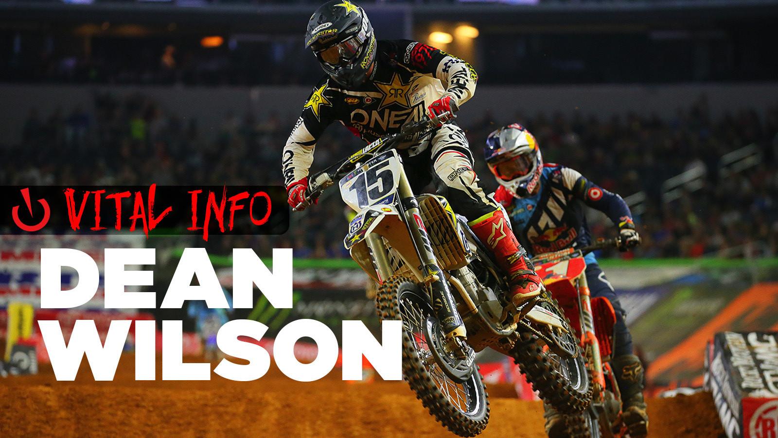 Vital Info: Dean Wilson
