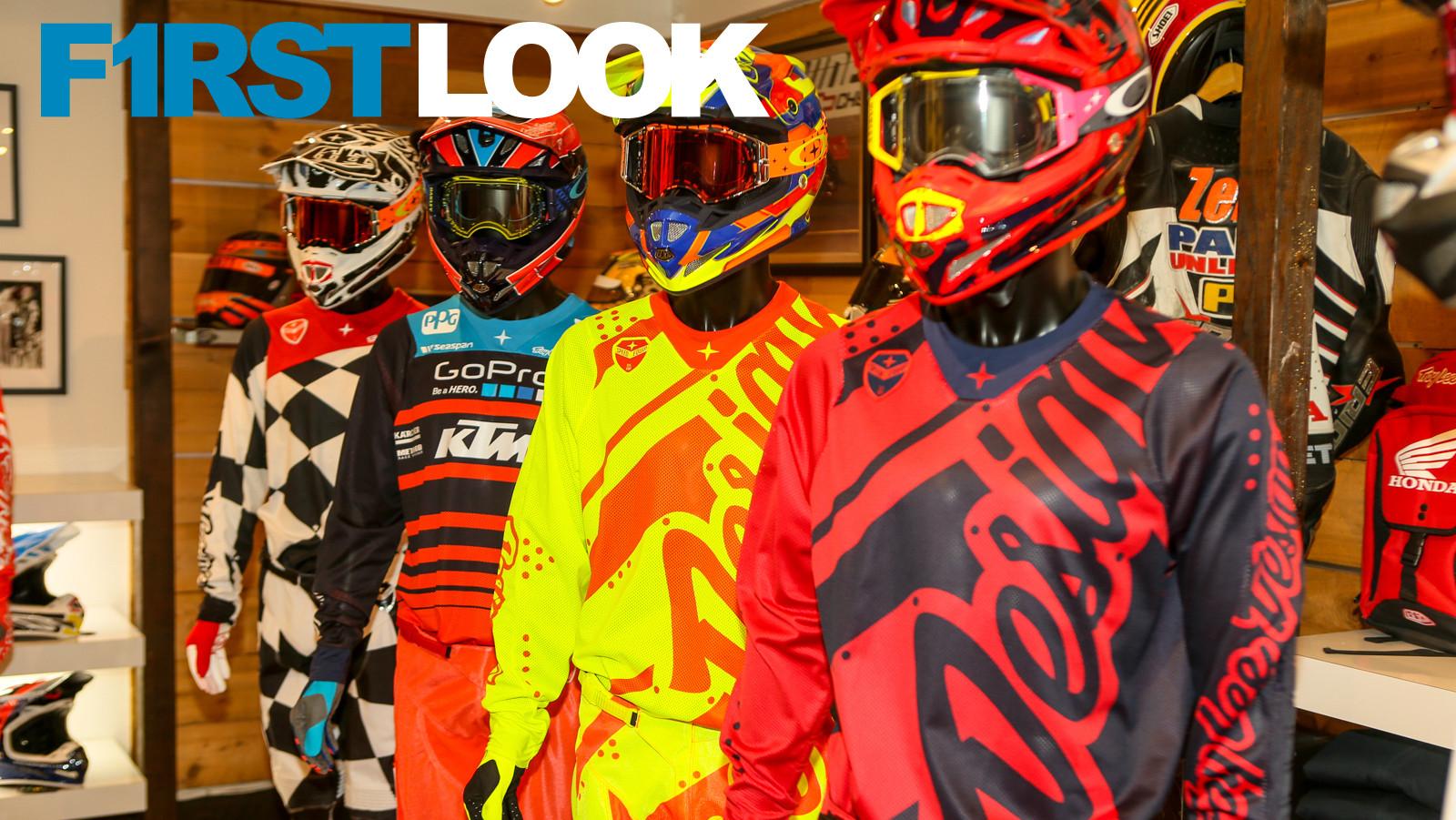 First Look: 2018 Troy Lee Designs Gear and Helmet Line