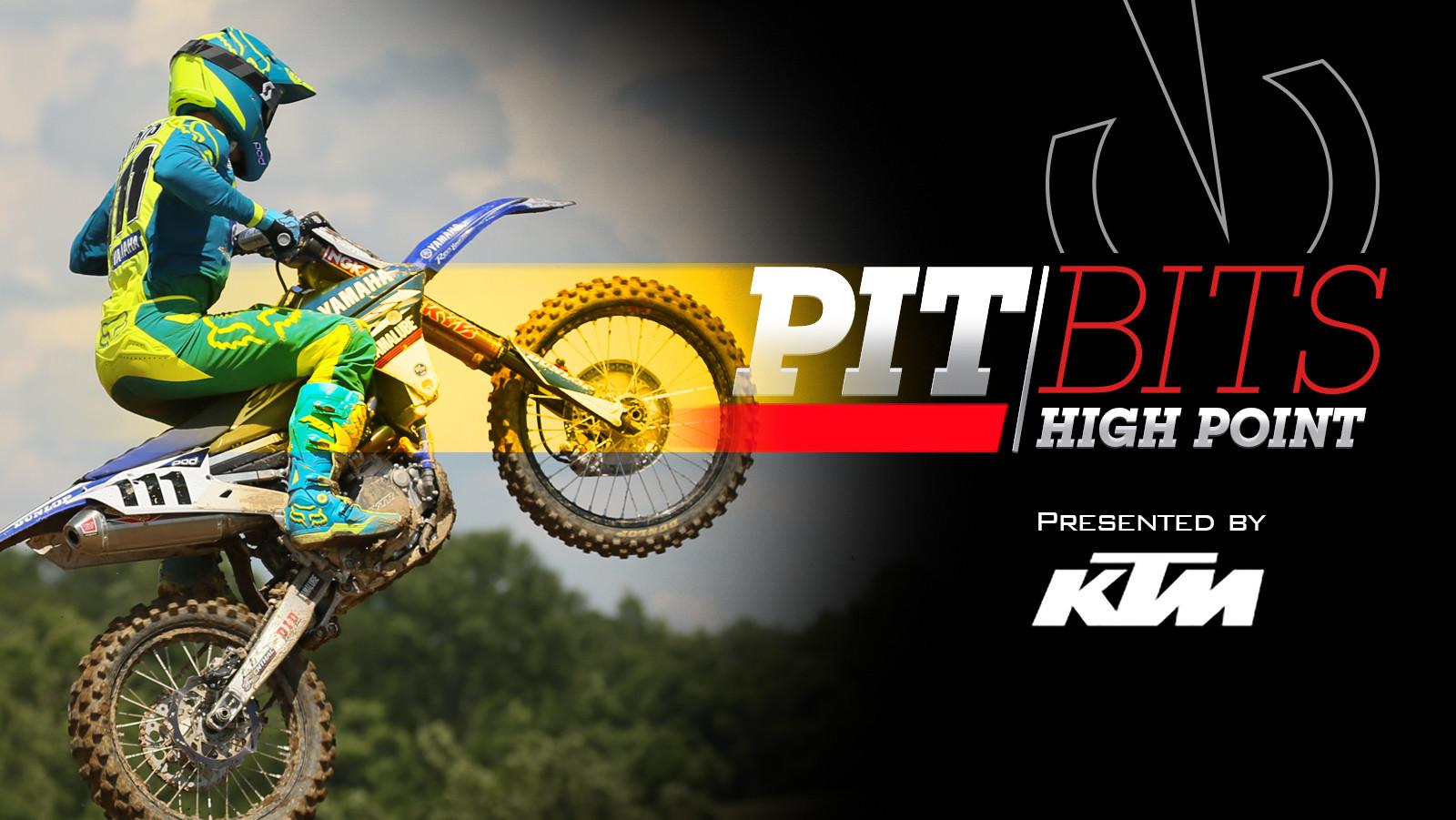 Vital MX Pit Bits: High Point