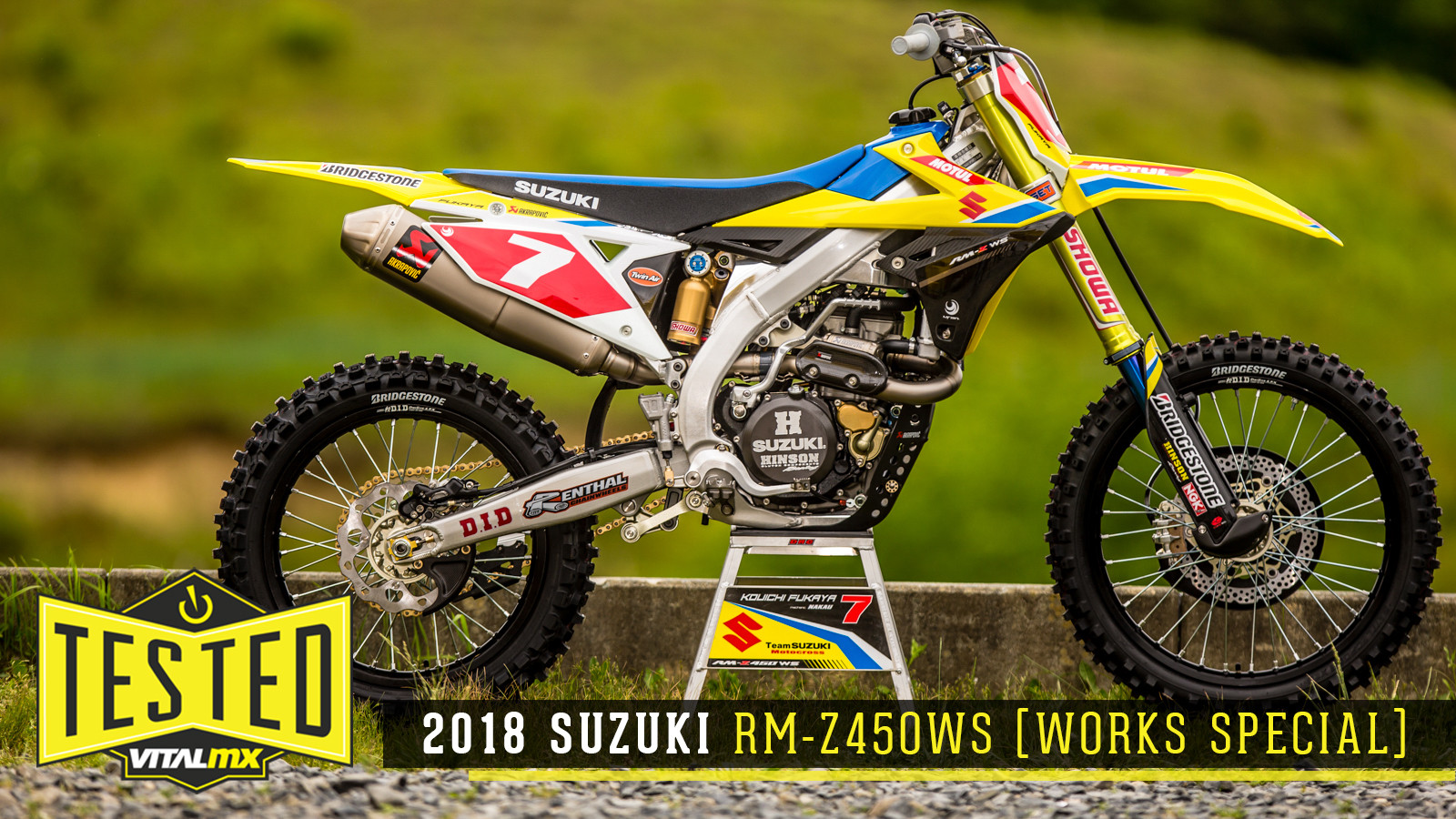 Tested: 2018 Suzuki RM-Z450WS (Works Special)