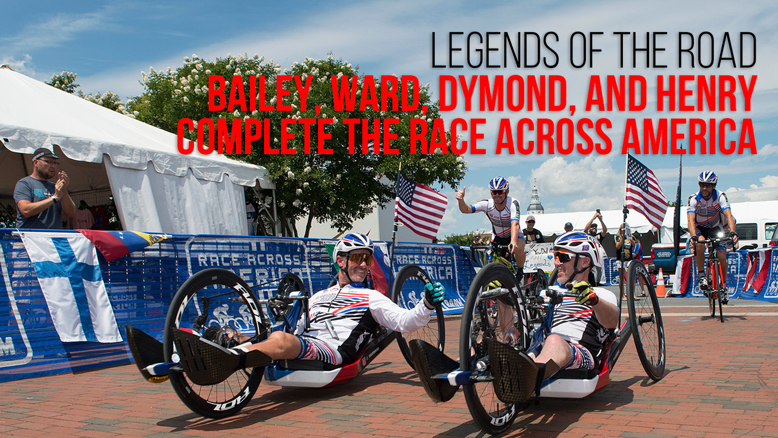 Bailey, Ward, Dymond, and Henry Complete The Race Across America