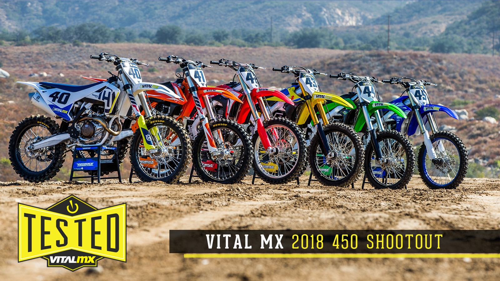 2018 Vital MX 450 Shootout