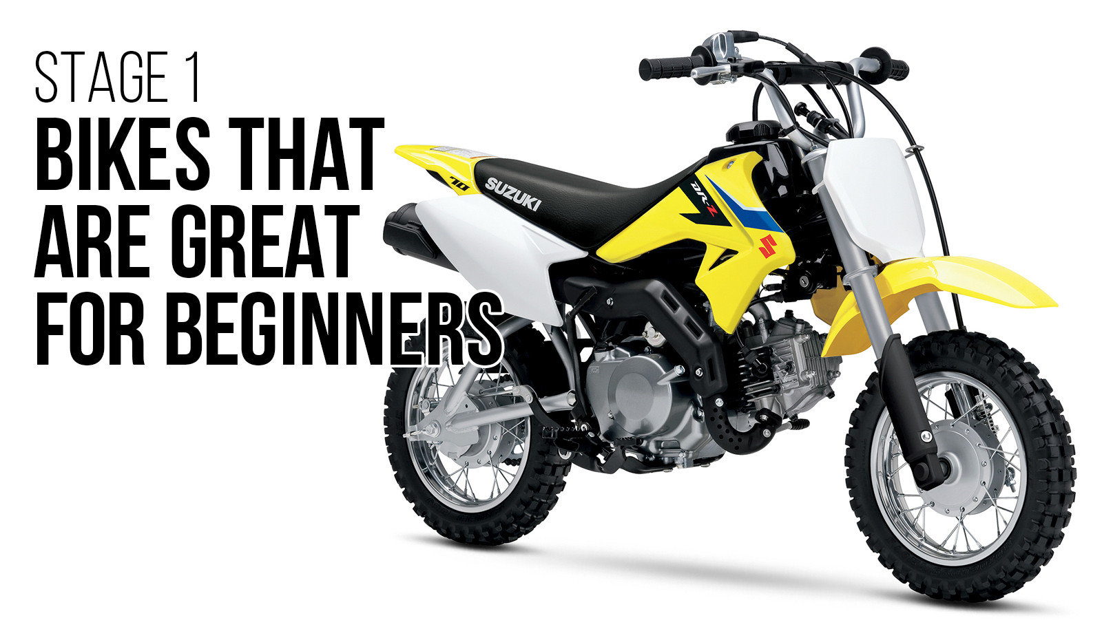 Stage 1: Bikes That Are Great For Beginners