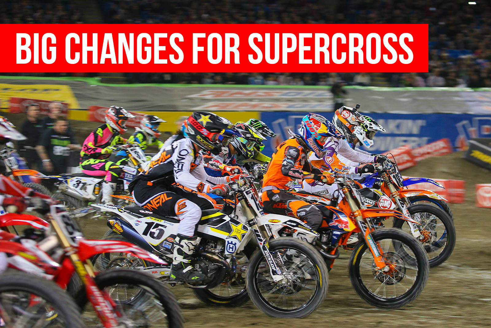 Big Changes for Supercross