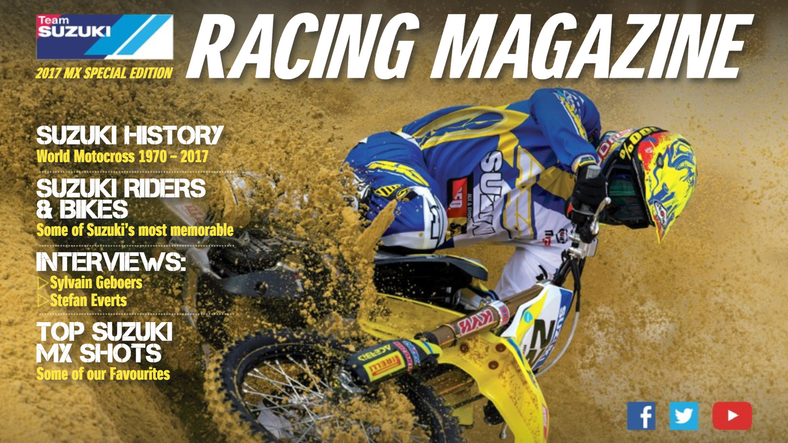 The History of Suzuki in MXGP - World Motocross Championship
