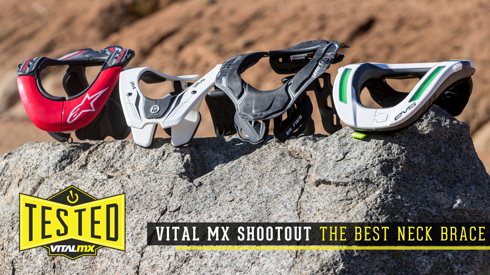 Vital MX Shootout: The Best Neck Brace