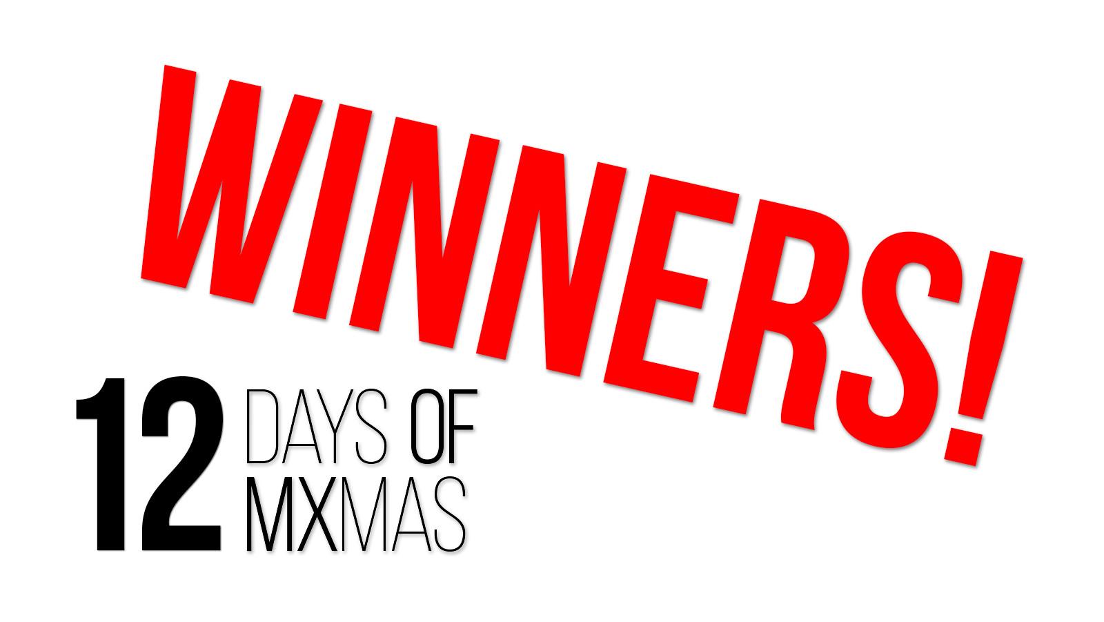 Vital MX 12 Days of MXmas Winners!