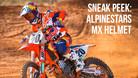 Sneak Peek: Alpinestars Motocross Helmet