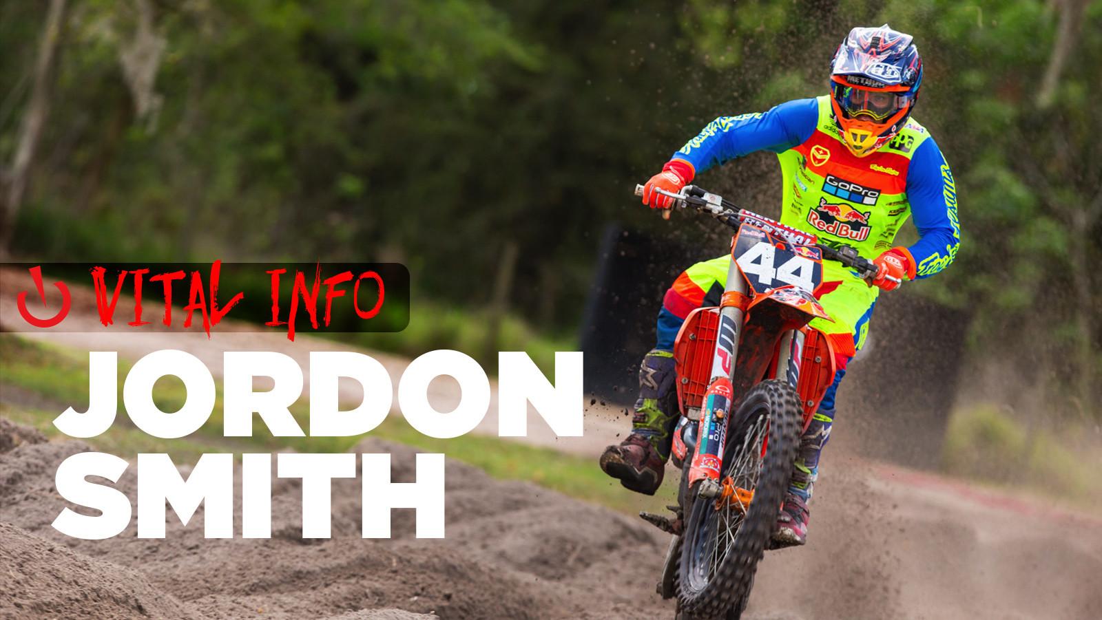 Vital Info: Jordon Smith