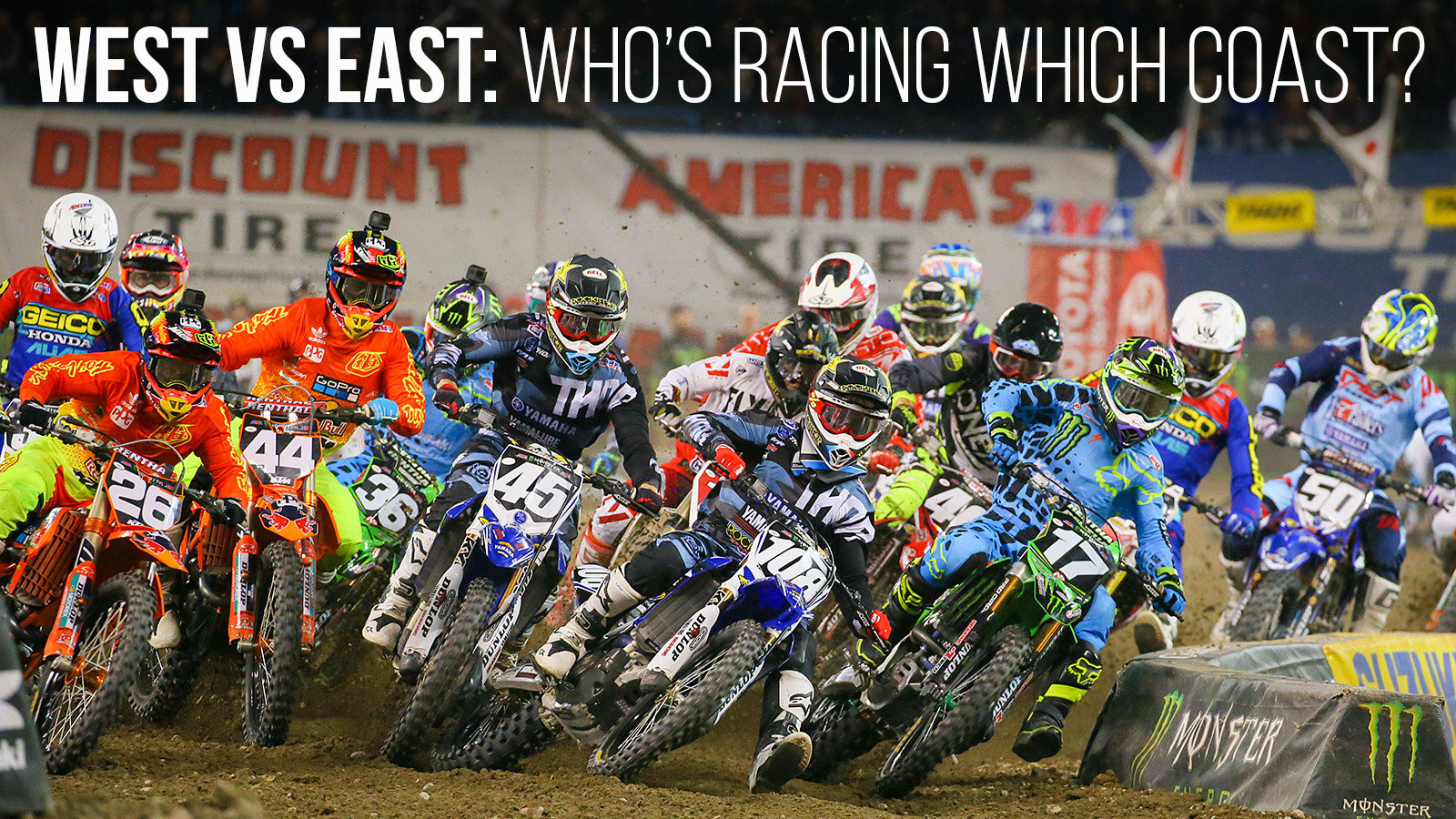 West vs East: Who's Racing which Coast?