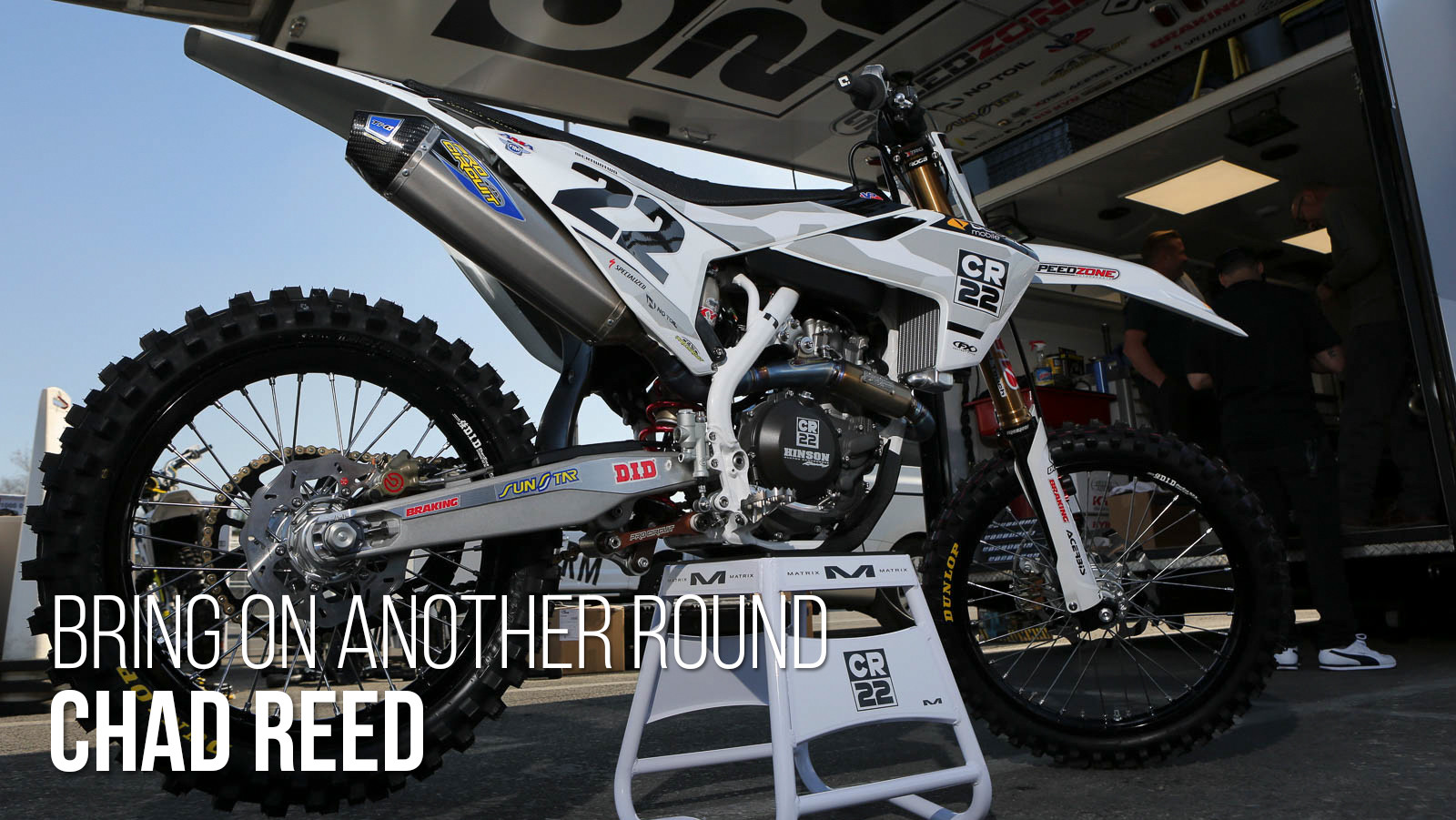 Chad Reed: Bring On Another Round