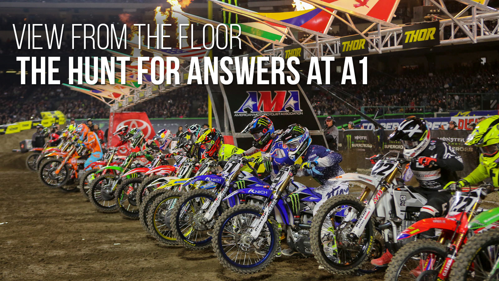 View From the Floor: The Hunt For Answers At A1