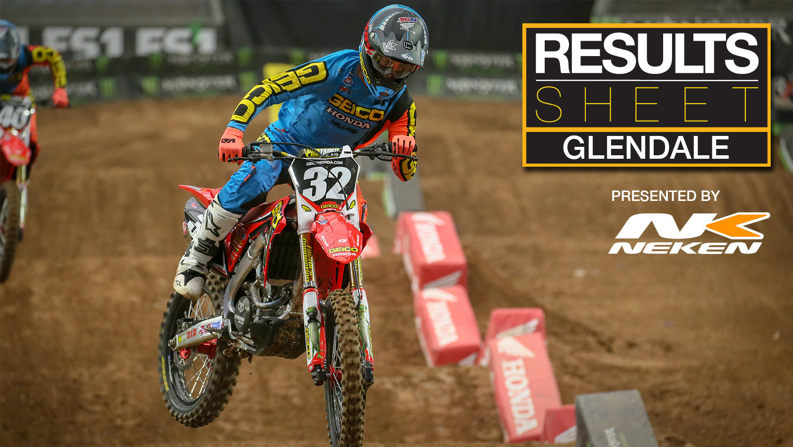 Results Sheet: 2018 Glendale Supercross