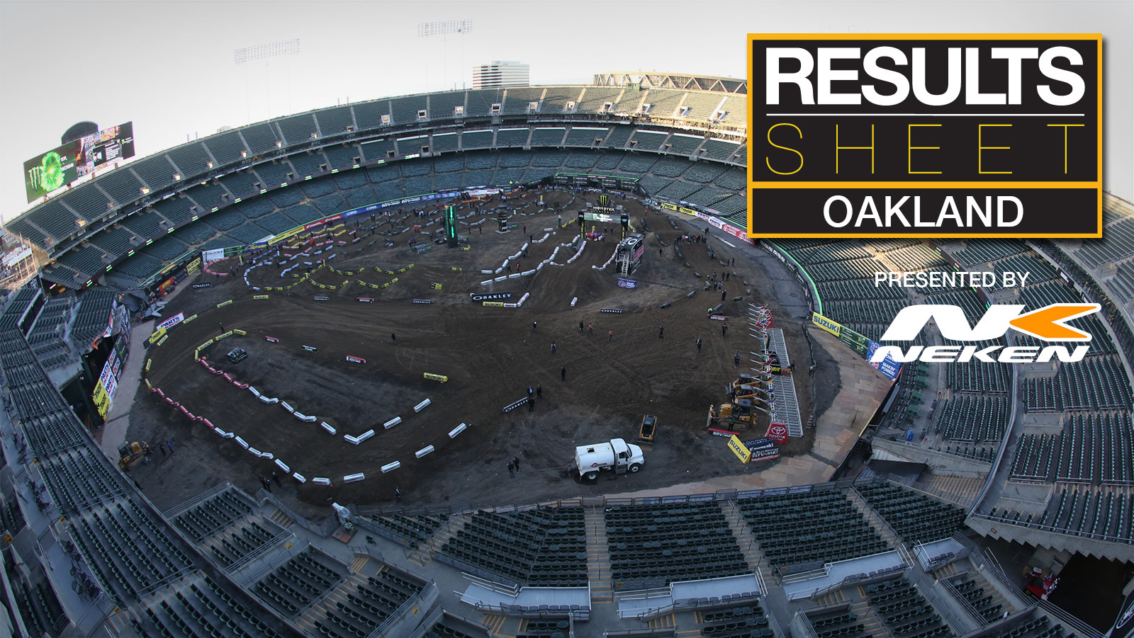 Results Sheet: 2018 Oakland Supercross