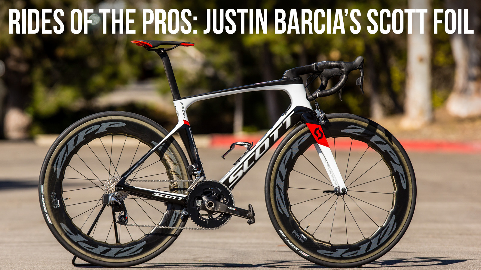 Training Rides of the Pros: Justin Barcia's Scott Foil Road Bike