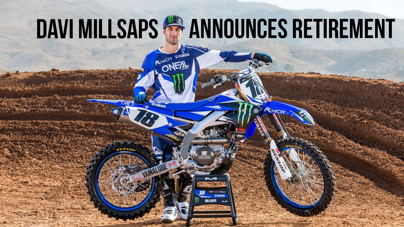 Davi Millsaps Retires