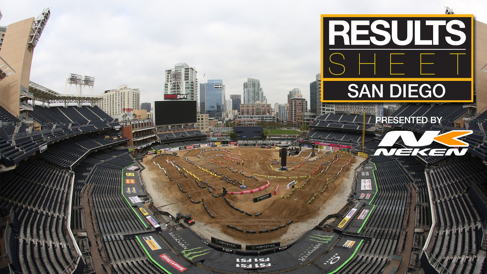 Results Sheet: 2018 San Diego Supercross