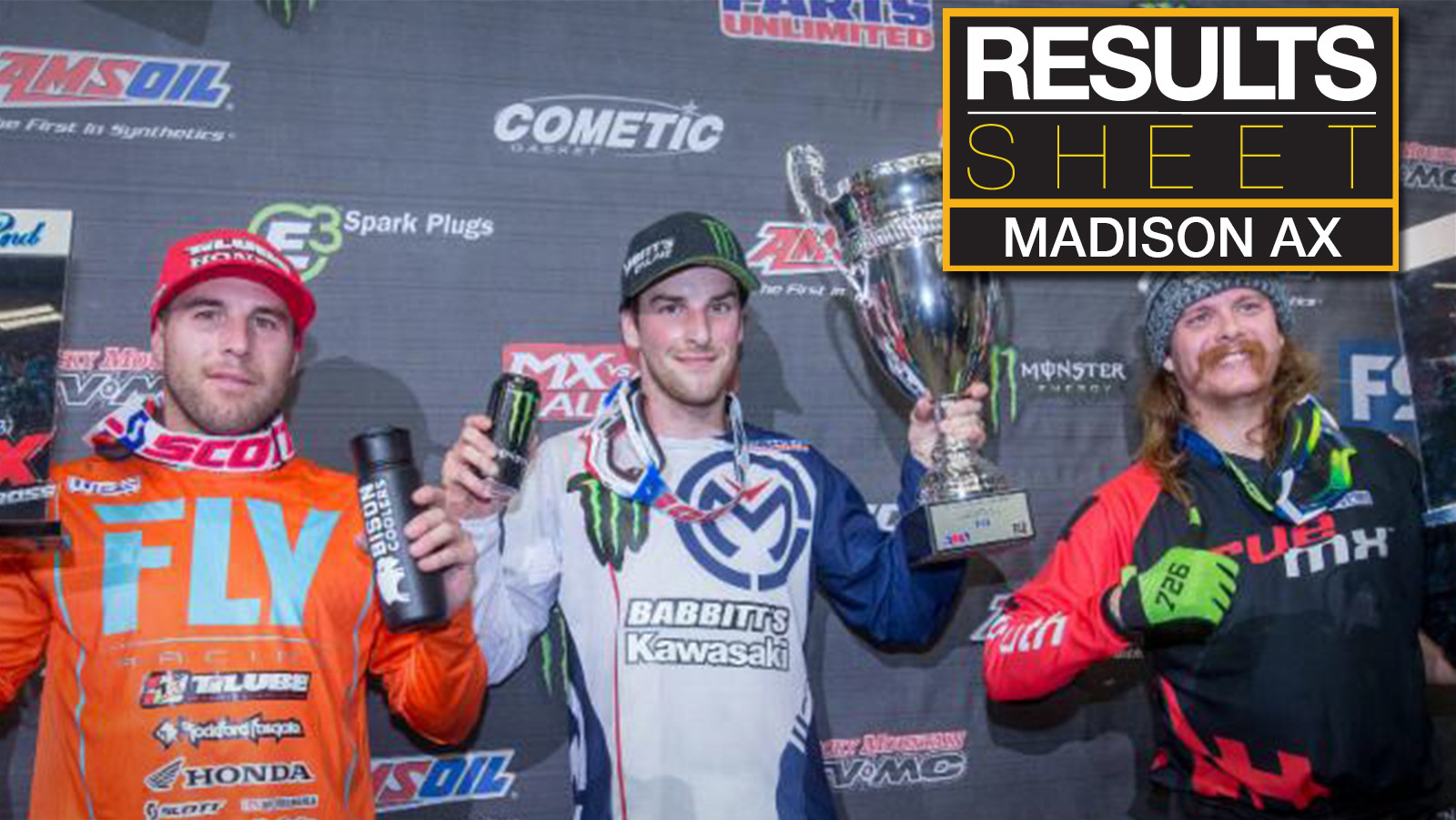 Results Sheet: 2018 Madison Arenacross