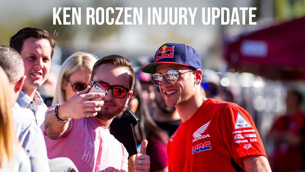 Injury Update: Ken Roczen - Surgery and Recovery Time