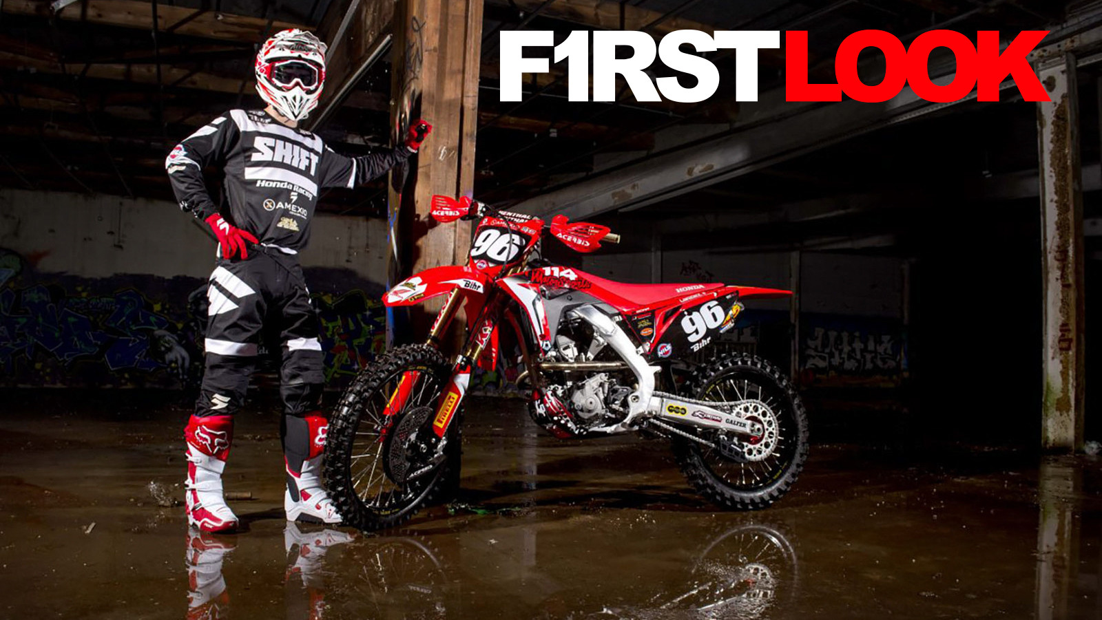 First Look: 2018 Team 114 Honda - Hunter Lawrence & Bas Vaessen