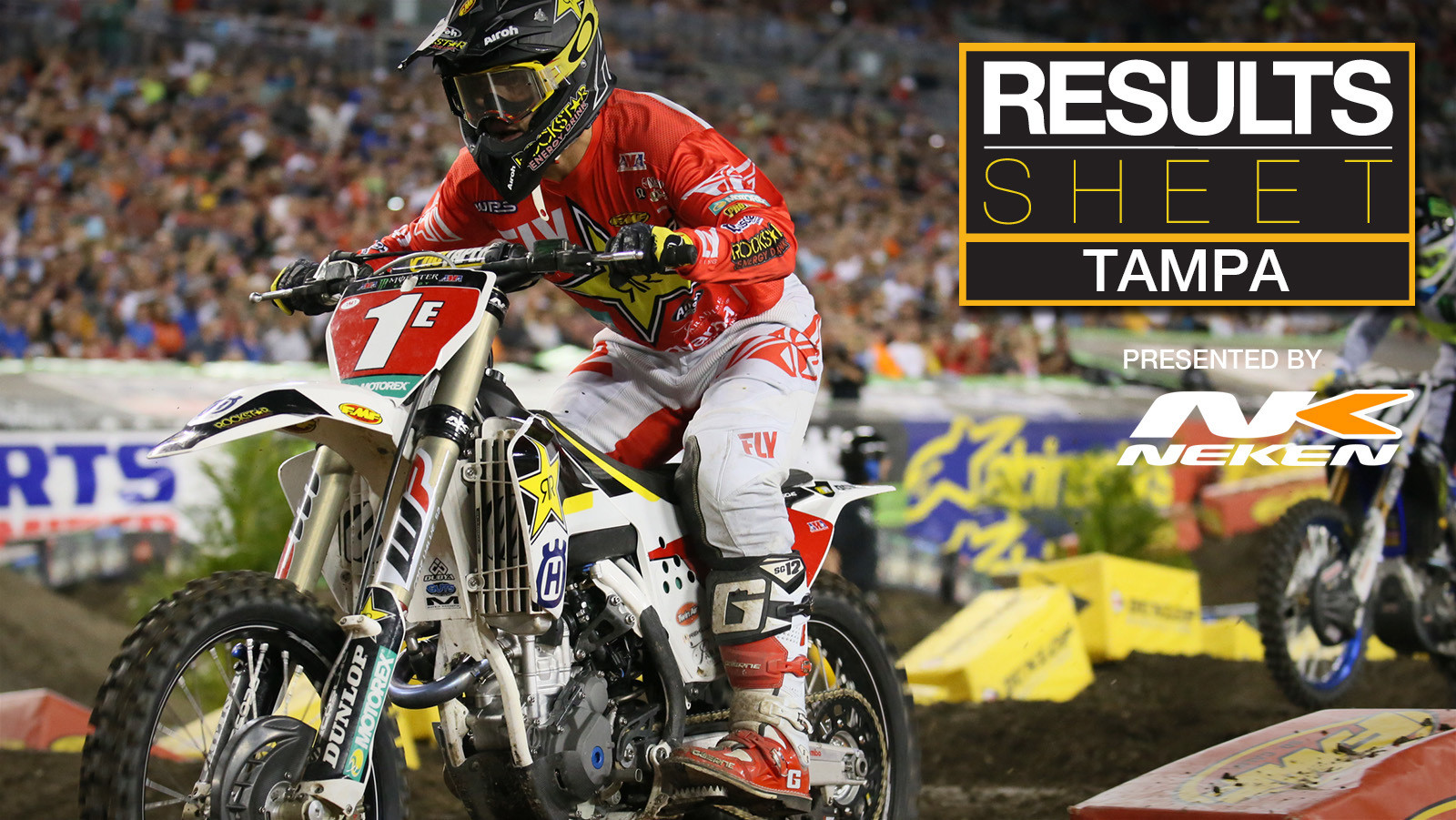 Results Sheet: 2018 Tampa Supercross