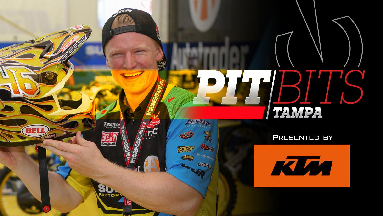 Vital MX Pit Bits: Tampa Supercross