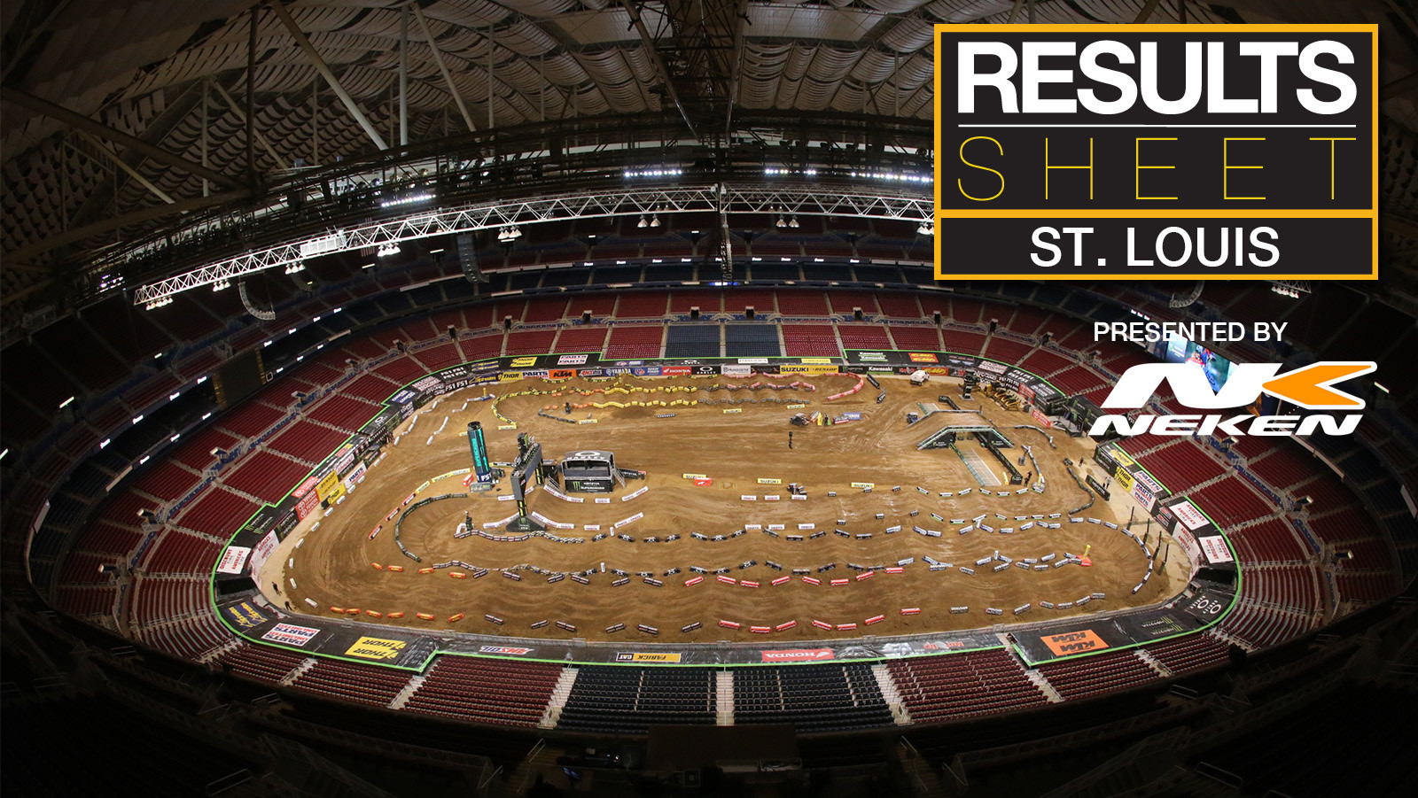 Results Sheet: 2018 St. Louis Supercross