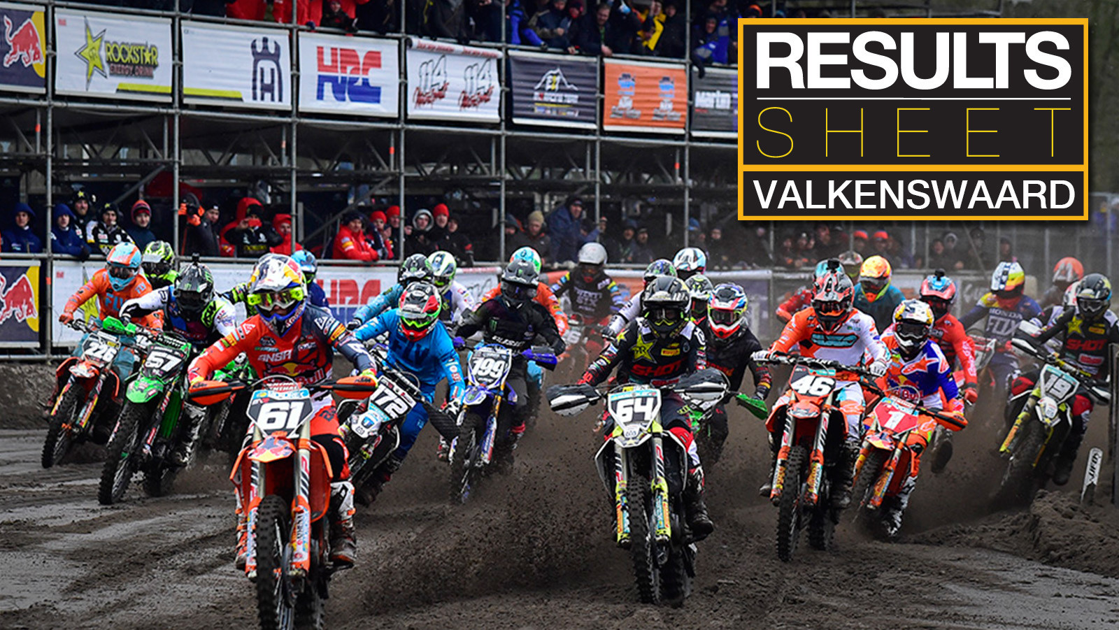 Results Sheet: 2018 MXGP of Valkenswaard