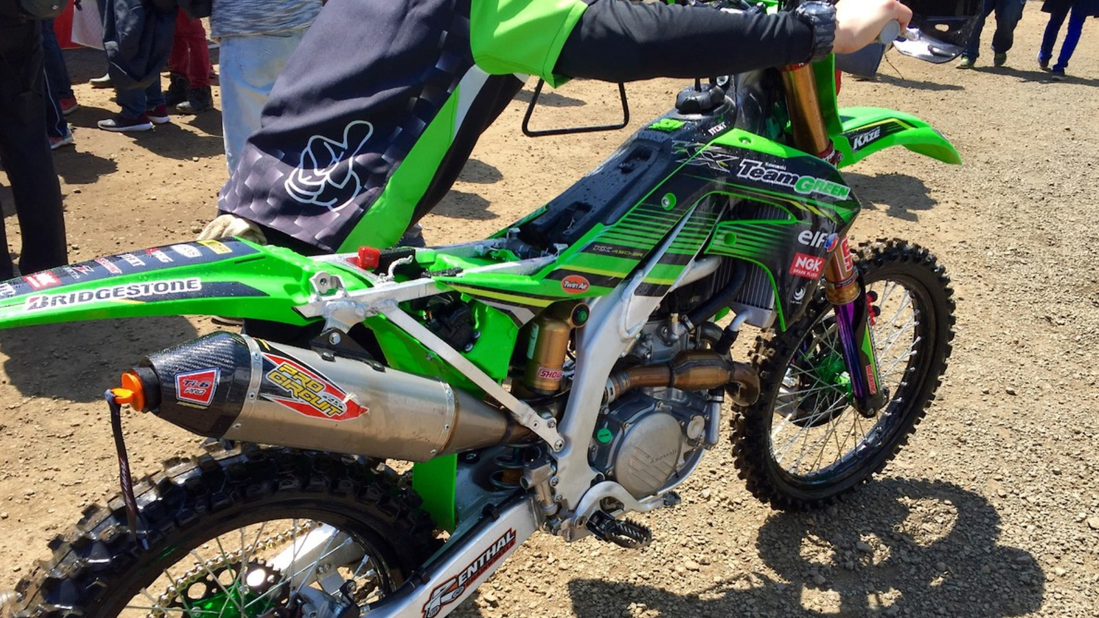 An Updated Look at the 2019 Kawasaki KX450F
