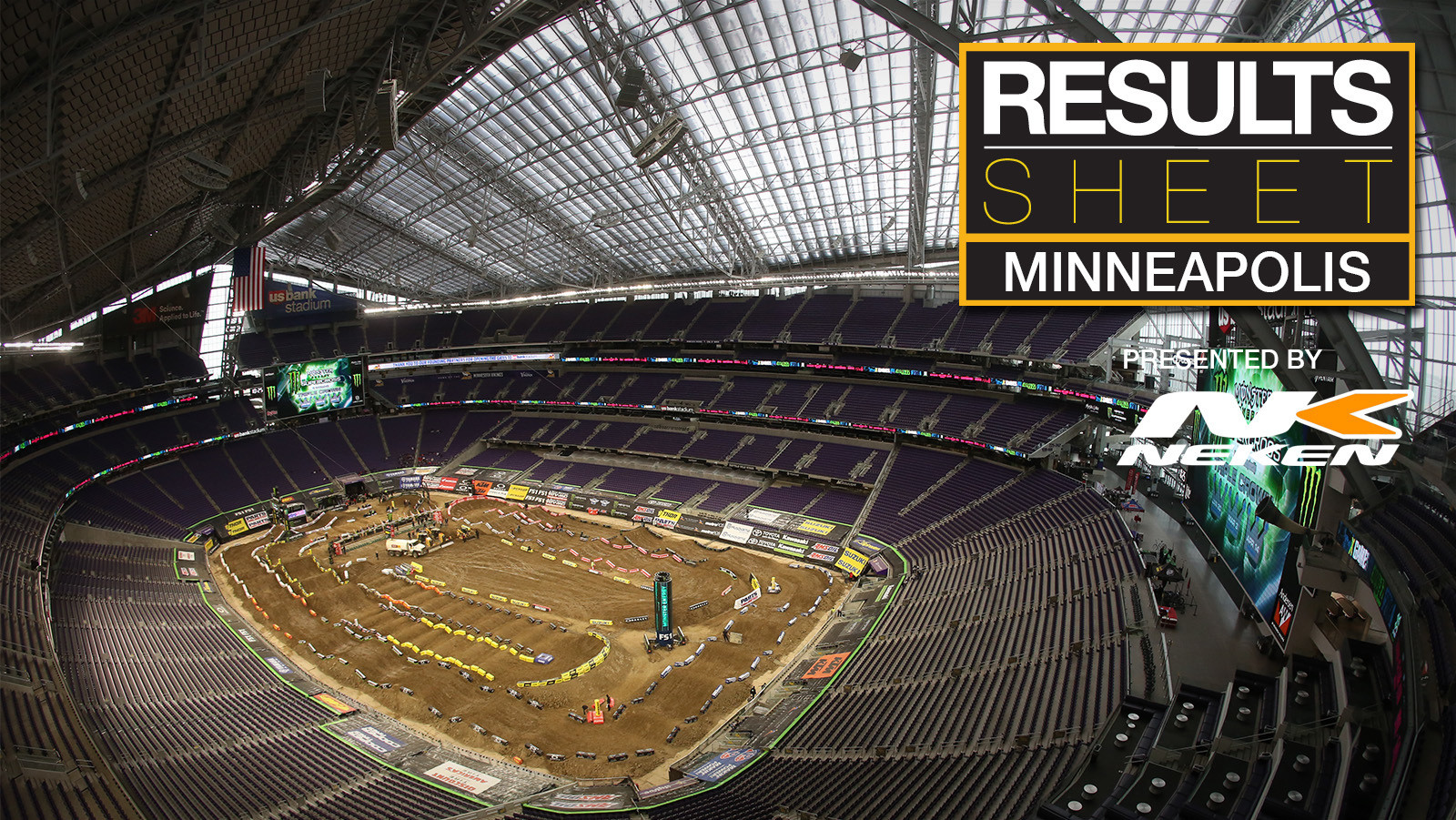 Results Sheet: 2018 Minneapolis Supercross