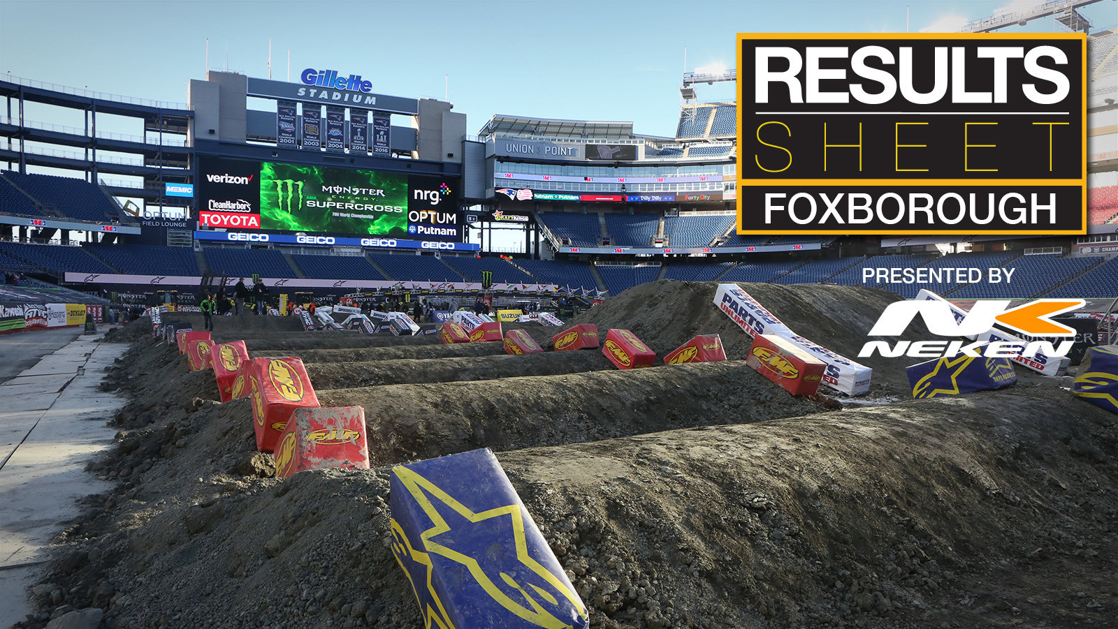 Results Sheet: 2018 Foxborough Supercross