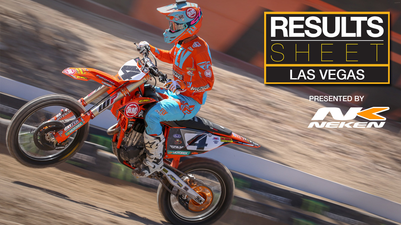 Results Sheet: 2018 Las Vegas Supercross