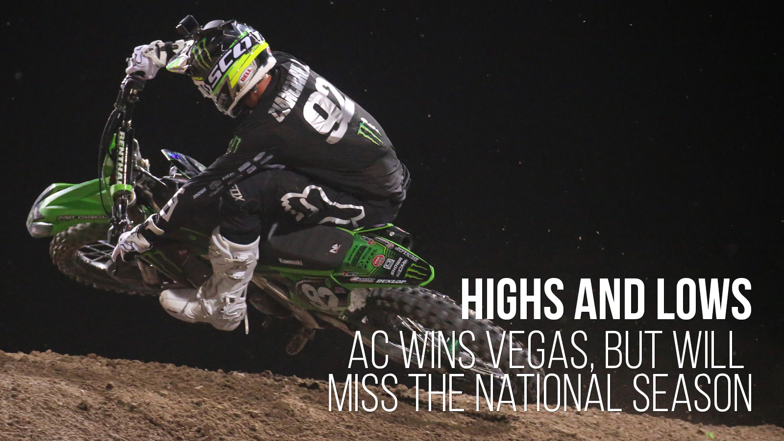 Highs and Lows: Adam Cianciarulo Wins Vegas, Will Miss the National Season