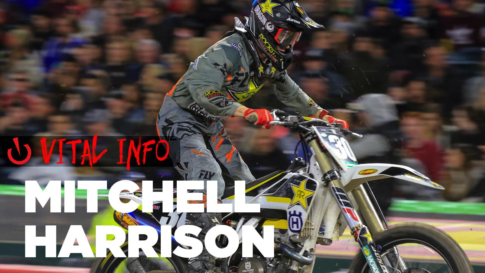 Vital Info: Mitchell Harrison