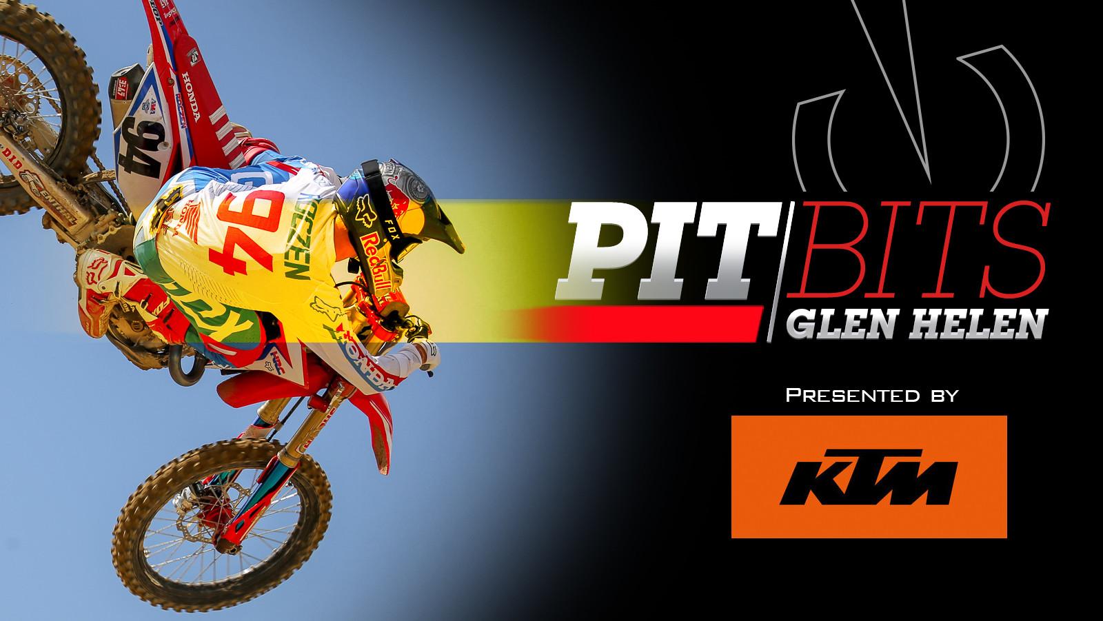 Vital MX Pit Bits: Glen Helen