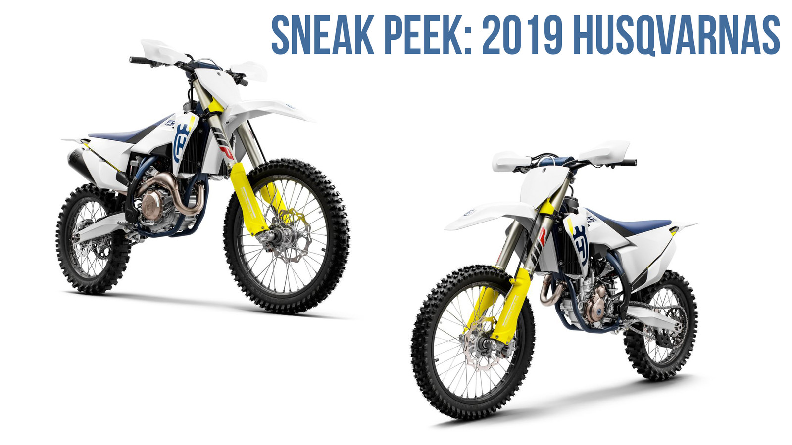 Sneak Peek: 2019 Husqvarna Motocross Models