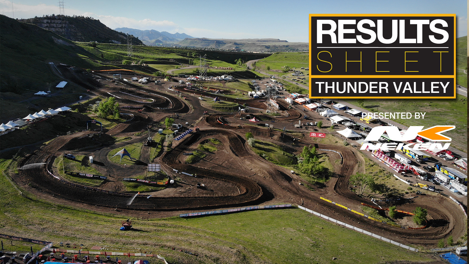 Results Sheet: 2018 Thunder Valley Motocross National