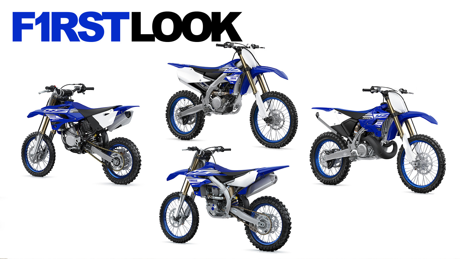 First Look: 2019 Yamaha Motocross and Off-Road Models