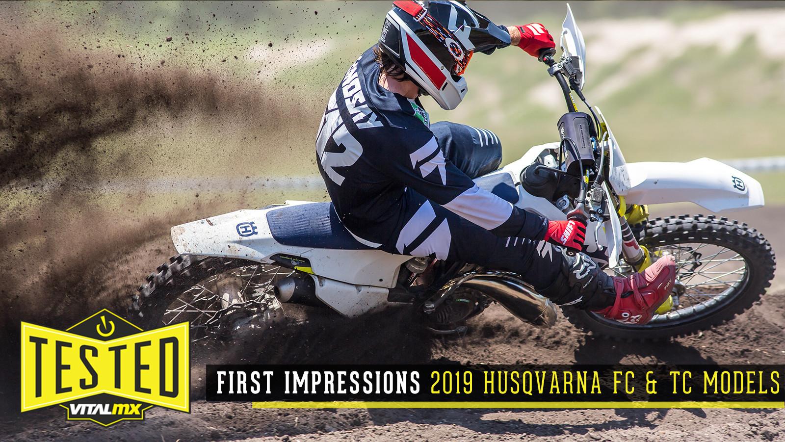 First Impressions: 2019 Husqvarna FC 250, FC 350, FC 450, TC 125 & TC 250