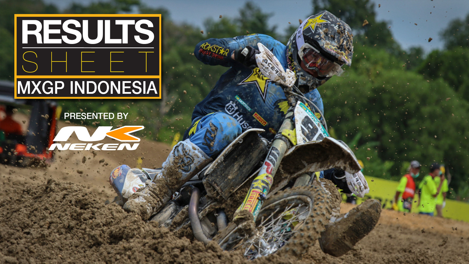Results Sheet: 2018 MXGP of Indonesia