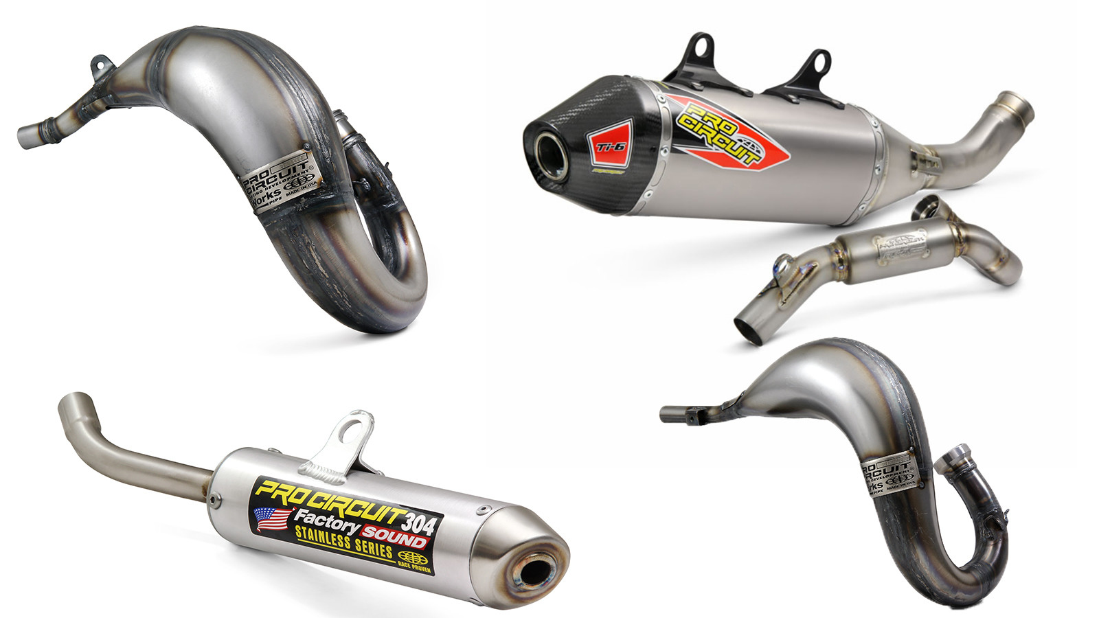 New Pipes For New Bikes From Pro Circuit