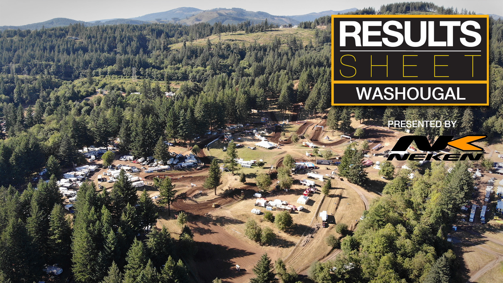 Results Sheet: 2018 Washougal Motocross National