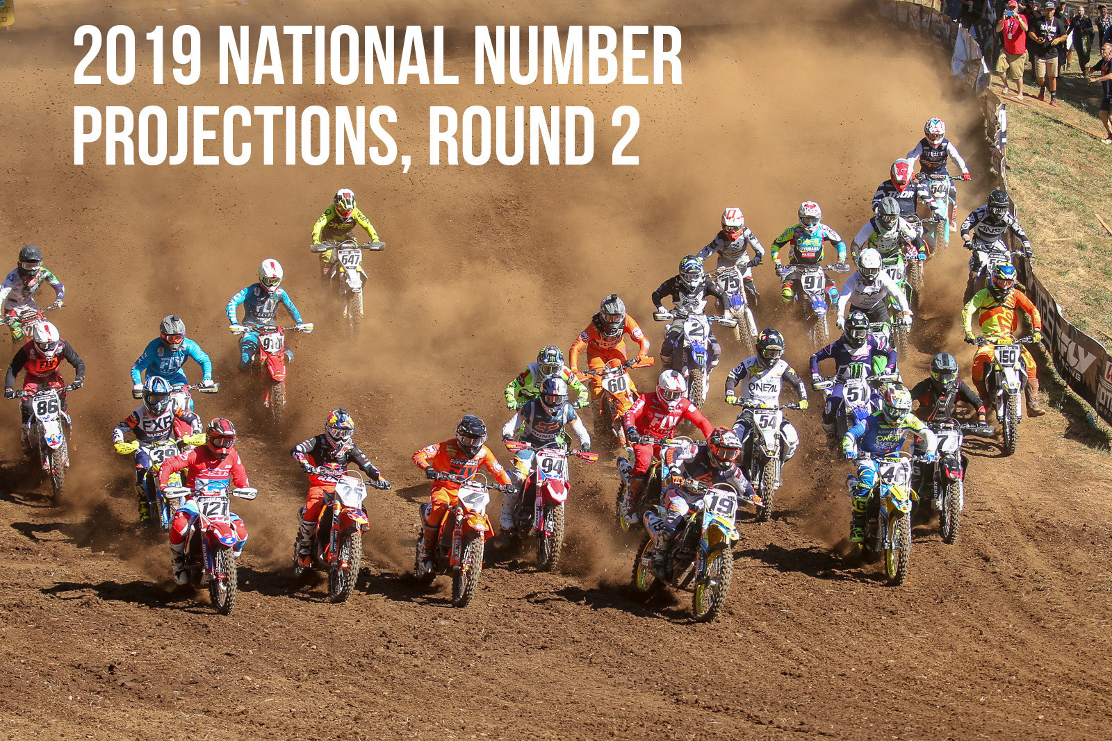 2019 AMA National Number Projections, Round 2