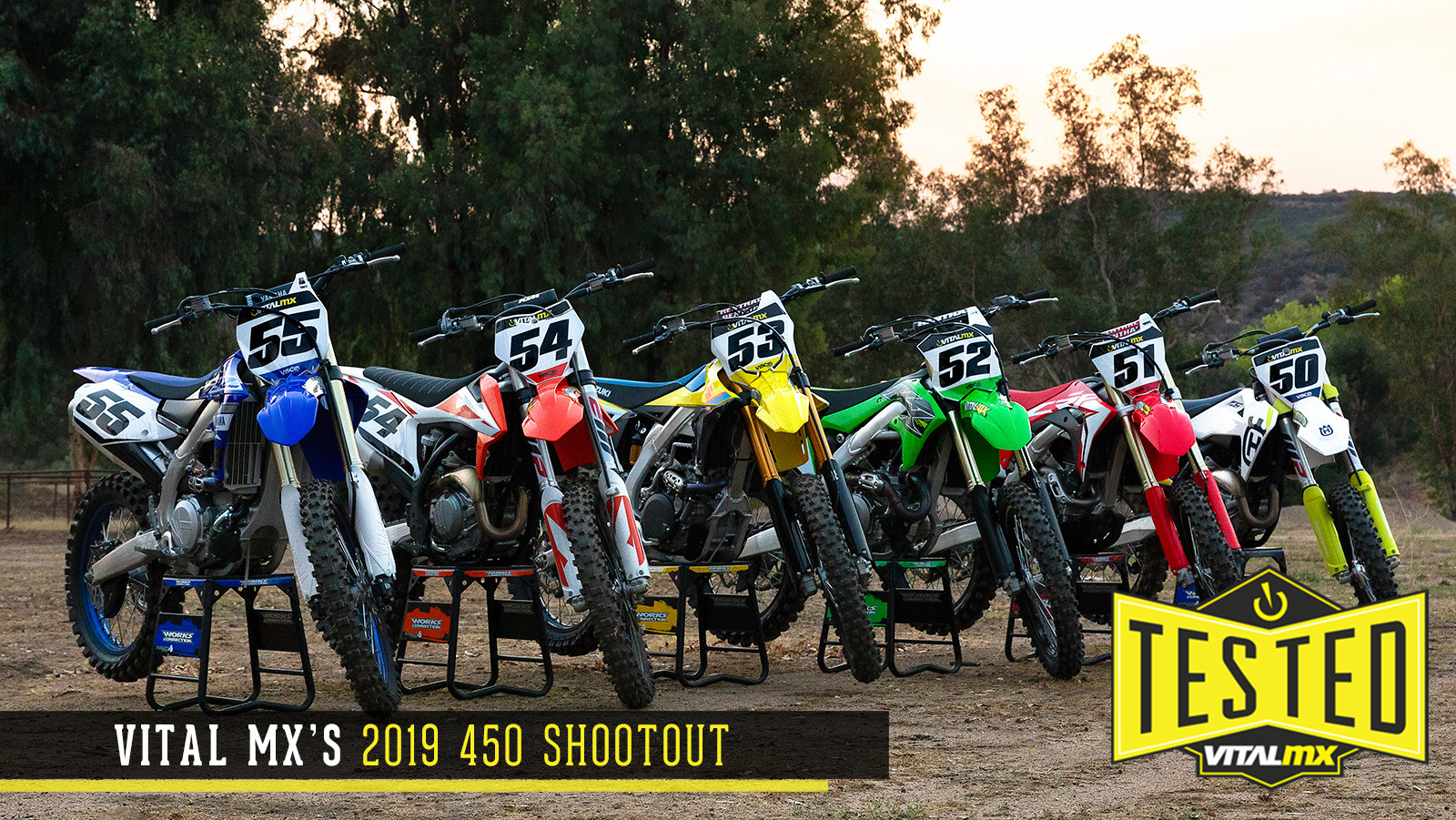2019 Vital MX 450 Shootout - Motocross Feature Stories