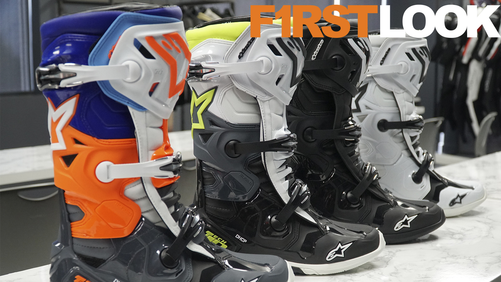 First Look: New Alpinestars Tech 10 and Off-Road Gear